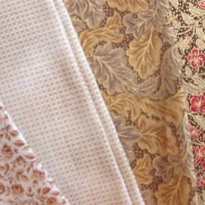 Cottons - Creams / Beiges / Browns